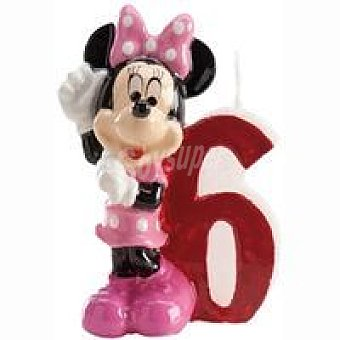 Minnie Disney Velas Nº 6 6 Pack 40