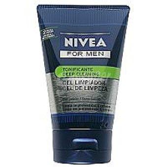 Nivea For Men Gel limpiador tonificante Tubo 100 ml