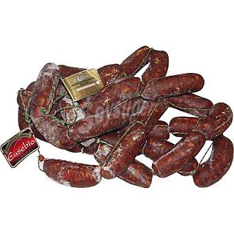 EUSEBIO Longaniza de salchichón extra ibérica de bellota peso aproximado pieza 250 g