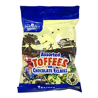 Walkers Caramelos toffee chocolate 150 g
