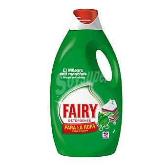 Fairy Detergente líquido para la ropa antimanchas 40 lavados