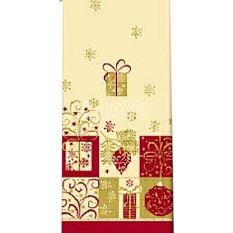 PAP STAR mantel Christmas Symbols 120x180 1 unidad