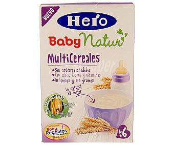 HERO BABY Papilla multicereales desde 6 meses paquete 500 g