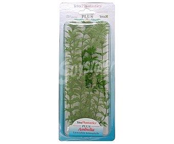 Tetra Ambulia, planta de plástico para acuario 1 unidad