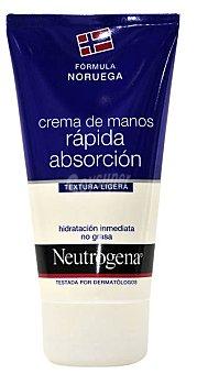 Neutrogena Crema Manos Textura Ligera Envase 75 ml