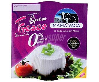 Mama Vaca Queso fresco suave 0% materia grasa 250 Gramos