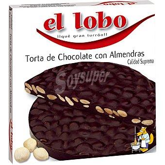 El Lobo Torta de chocolate con almendras Estuche 200 g