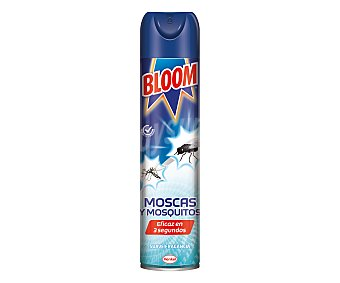 Bloom Insecticida para moscas y mosquitos efecto instantáneo 600 ml