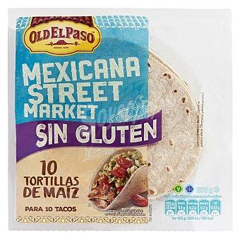 Old El Paso Tortillas mejicanas de maíz sin gluten 10 ud