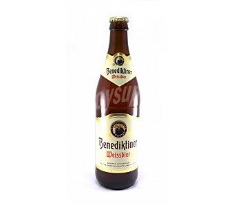BENEDIKTINER Cerveza de trigo Botella de 50 centilitros