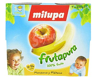 Milupa Tarritos de Manzana y Plátano Manzana/Plátano4x100g