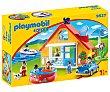 Conjunto de juego Casa de vacaciones con 7 figuras y accesorios, 1.2.3 9527 playmobil  Playmobil 1.2.3