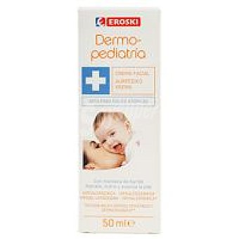 Eroski Crema facial bebé Dermopediatría Tubo 40 ml