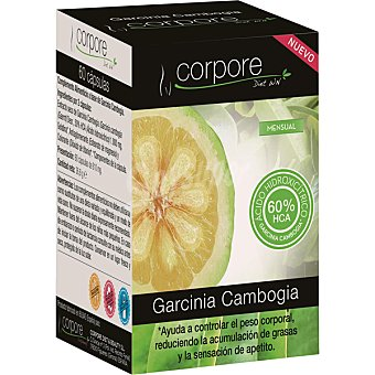 CORPORE DIET Garcinia Cambogia activador de grasas acumuladas caja 71 g