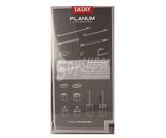 Tatay Porta rollos cromado sin tapa, modelo Planum 1 unidad