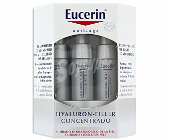 Eucerin Tratamiento antiedad , Hyaluron Filler concentrado 6 Unidades de 5 Mililitros