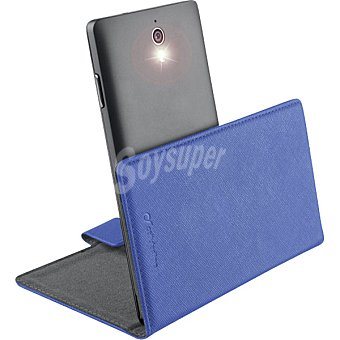 CELLULAR LINE Funda Libro Book Uni 3XL azul para smartphones