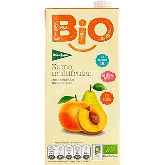 EL CORTE INGLES Bio Zumo multifrutas ecológico y sin gluten  brik 1 l