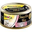 SHINY CAT alimento húmedo para gatos filetes de pollo y gambas envase 70 g envase 70 g Gimpet