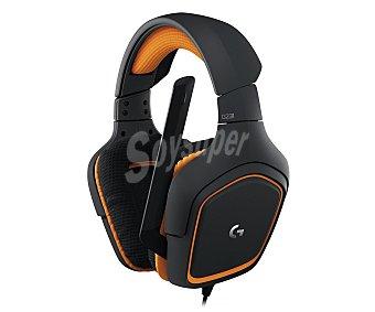 Logitech Auriculares gaming micrófono, conexión Jack 3,5mm G231 Prodigy