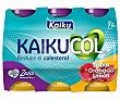 Yogur líquido con sabor granada y limón Zero 6 x 65 g Kaikucol