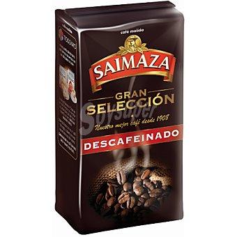 Saimaza Café descafeinado molido natural Envase 250 g