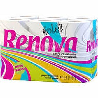 Renova Papel higiénico ole Paquete 12 rollos