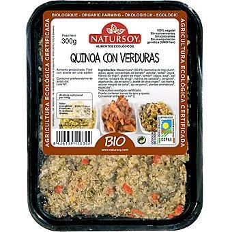 Natursoy quinoa con verduras ecológica  envase 300 g