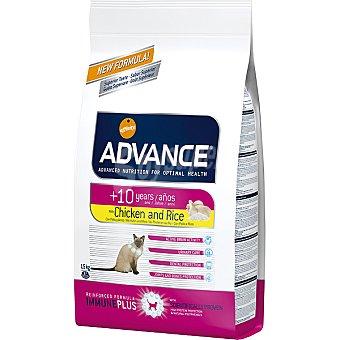 Advance Affinity Alimento de alta gama para gatos de + 10 años bajo en fosforo rico en pollo y arroz Senior Bolsa 400 g