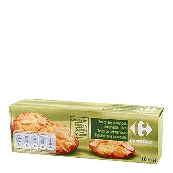 Carrefour Tejas con almendra 100 g