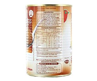 Auchan Albóndigas preparadas Lata de 415 gramos