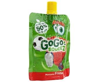 GOGO Fruta manzana y fresa triturada 90g