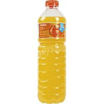 Eroski Refresco de naranja sin gas Botella 1,5 litros