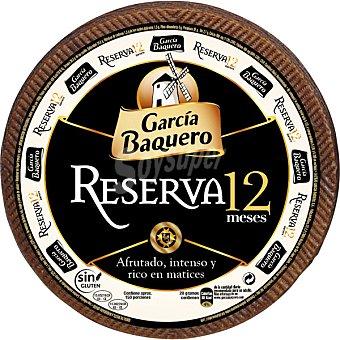 García Baquero Maestro queso curado reserva 12 meses peso aproximado pieza 3 kg 3 kg