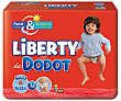 Bragapañal Liberty 16-22 kg Talla 6 Paquete 32 unid Dodot Liberty