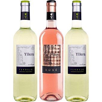 Yllera vino blanco verdejo +... Vendimia Nocturna Estuche 2 botellas 75 cl