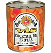 Cocktail fruta almíbar 1 kg Vis