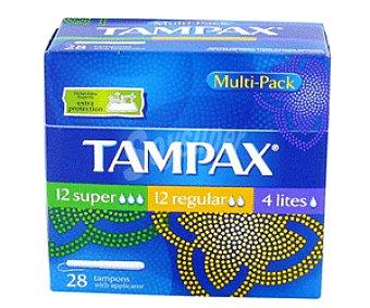 Tampax Tampón Multipack 28+3u