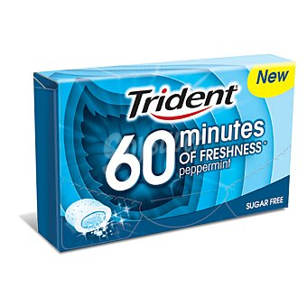 Trident Chicle 40 minutos menta 20 g