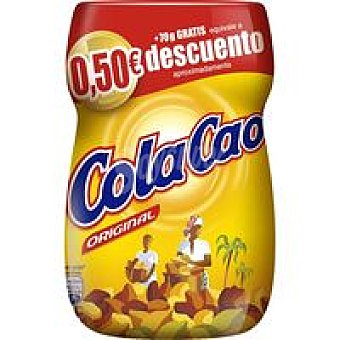 Cola Cao Cacao soluble bote 400 g + 70 g