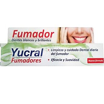 YUCRAL Pasta de dientes para fumadores con fluor tubo 75 ml Tubo 75 ml