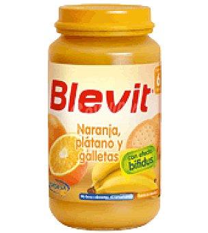 BLEVIT Tarrito Naranja, plátano y galletas 250 g