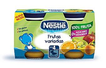 Nestlé Potito nestle frutas variadas 2 unidades de 130 g