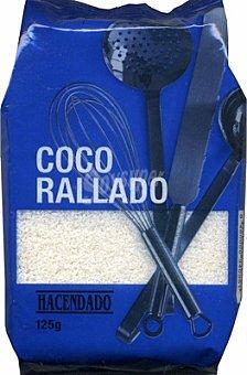 Hacendado Coco rallado Paquete 125 g