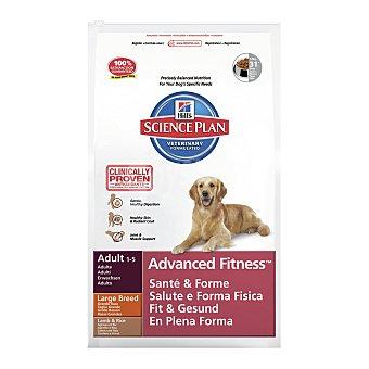Hill's Science plan adult pienso especial para perros adultos de raza grande con cordero y arroz Bolsa 12 kg