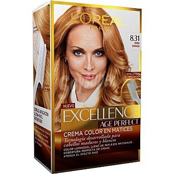 Excellence L'Oréal Paris Tinte age perfect nº 8.31 Rubio Dorado 1 ud