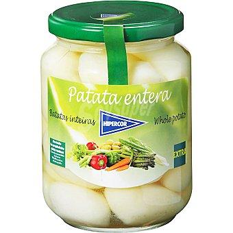 Hipercor Patata enteras extra Frasco 450 g neto escurrido