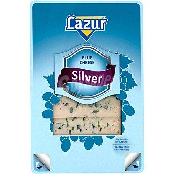 Casa Westfalia Lazur queso azul silver en lonchas 50% MG sin gluten sin lactosa envase 100 g Envase 100 g