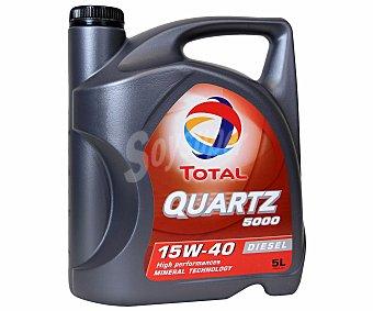 TOTAL Aceite mineral para vehículos diésel 5 Litros