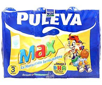 Puleva Leche Energía-Crecimiento con cereales Pack 6x1 litro